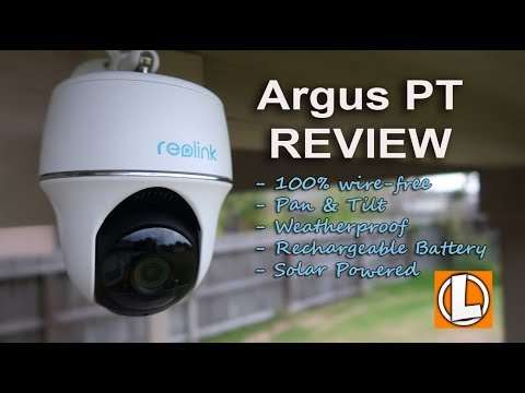 Reolink Argus PT Review - Wireless Battery Powered Pan and Tilt WiFi Camera