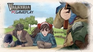 Valkyria Chronicles Gameplay (PC HD)