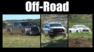 What's the Best Truck Off-Road: Raptor vs Power Wagon vs Tacoma TRD Pro? - TFLtruck Today #3
