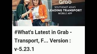 Latest Updates in Grab - Transport, Food Delivery, Payments Android Version 5.23.1 screenshot 3