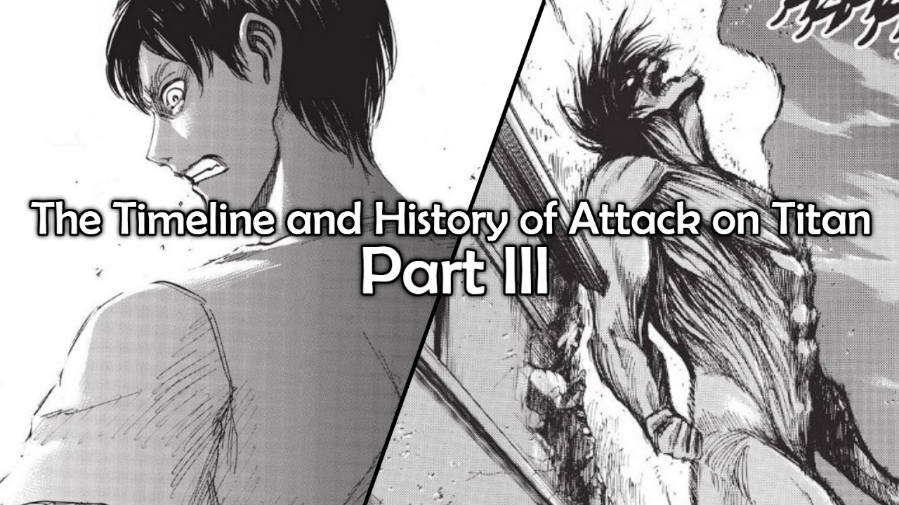 The Timeline And History Of Attack On Titan Part 3