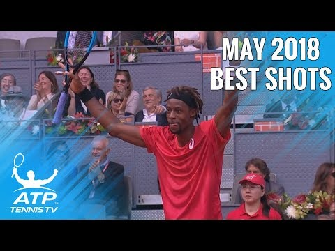 Top 20 ATP Tennis Shots From May 2018!