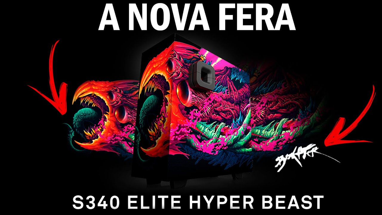 Nzxt s340 elite hyper beast limited edition