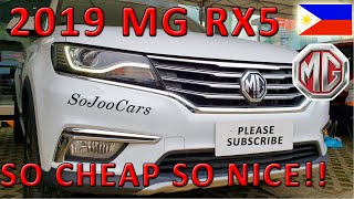 2019 MG RX5 Test Drive