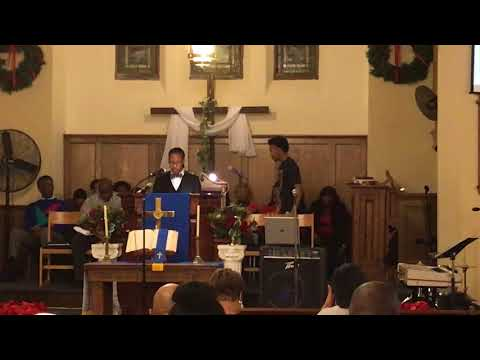 Watchnight Fellowship Service: Pastor Alan Lawrence ~ I Need A Miracle In My Mind