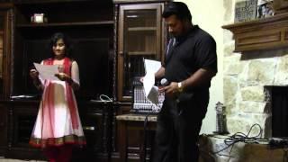 "Me & my Daughter singing - Chikni Kamar Pe (Dhadang Dhang) from the movie ""Rowdy Rathore"""