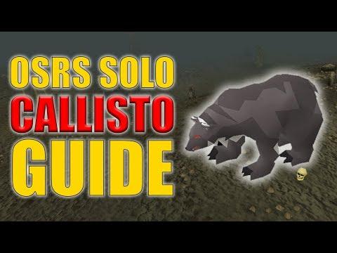 OSRS Solo Callisto Guide w/ 50 Kills Loot (Easy OSRS Boss Series Episode 10)