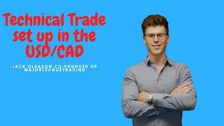 Technical Trade set up in the USD/CAD