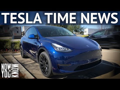 Tesla Time News - Model Y Deliveries Are Here!