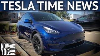 tesla Time News - Model Y - More Details Revealed!