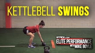 How to Properly Perform and Teach the Kettlebell Swing Featuring Mike Boyle