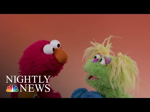 Ashley - New Sesame Street Character Addresses Opioid Addiction