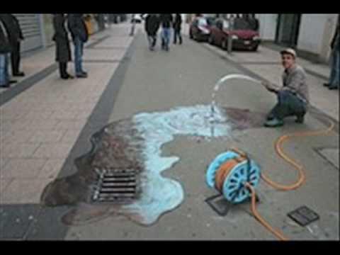 Arte Na Rua 3d Youtube