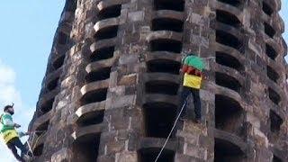 Tutuklu Greenpeace üyelerine Barselona