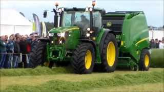 Prasa John Deere 990 na AgroShow Kąkolewo 2013