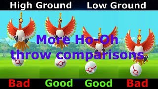 failzoom.com - More Ho-Oh Curve Excellent Throw Comparisons