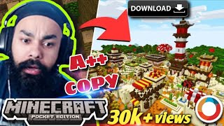 How to Download Chapati Hindustani Gamer Minecraft world in Hindi (Full World)