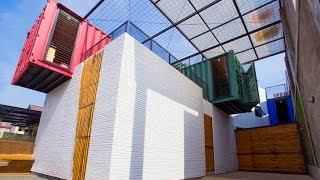 House of the Week: Budget-Friendly Shipping Container Home that Responds to its Tropical Climate