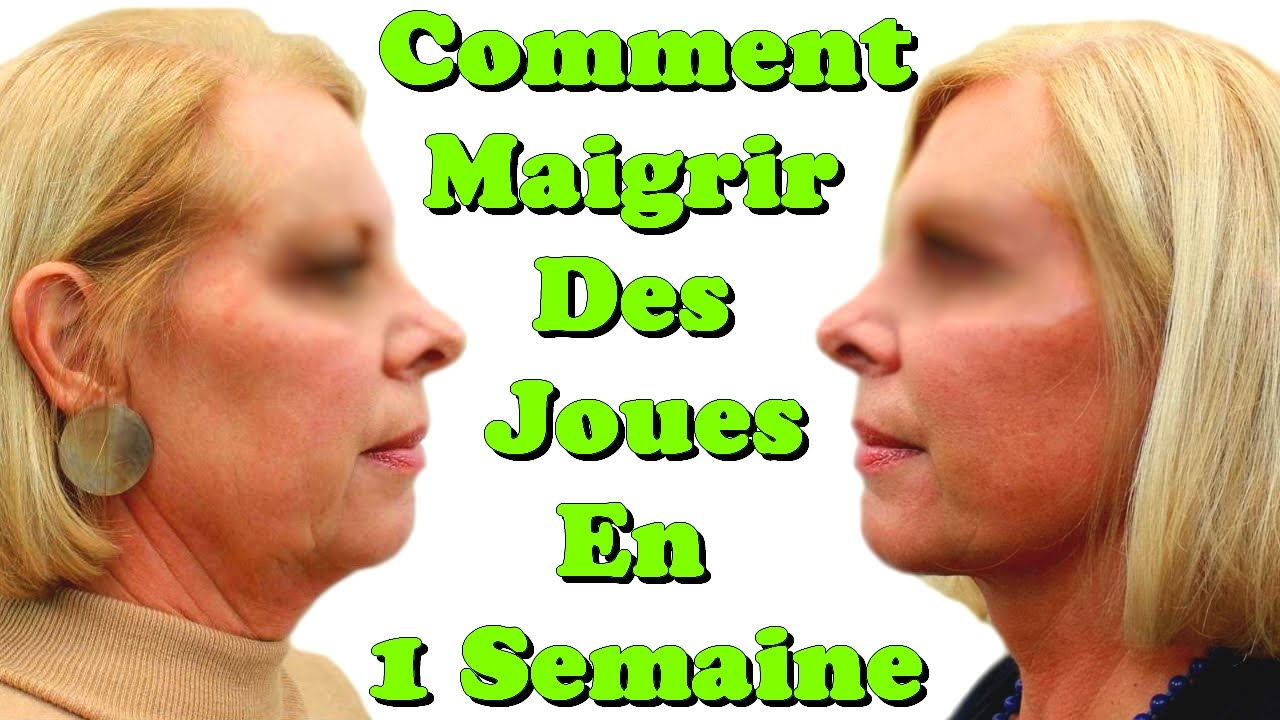 comment maigrir des joues en 1 semaine youtube. Black Bedroom Furniture Sets. Home Design Ideas