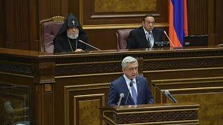 Սերժ Սարգսյանի ուղերձը ԱԺ-ին