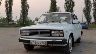 видео ВАЗ 2105 белая