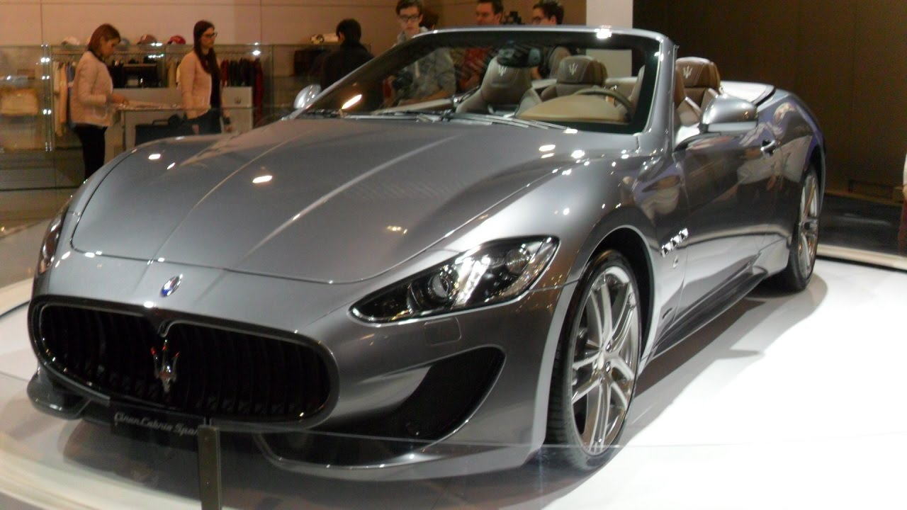 new maserati gran cabrio sport 2016 youtube. Black Bedroom Furniture Sets. Home Design Ideas