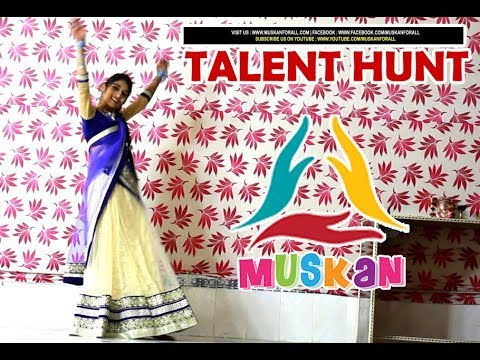 "Dance Performance by Nisha Usmani on ""Chura Ke Le Ja "" on occasion of Talent Hunt organized by MUSKAN"