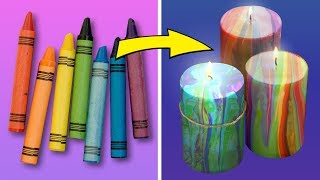 14 COLORFUL IDEAS WITH CRAYONS THAT WILL HIT YOUR FRIENDS