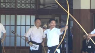 第66回全日本男子弓道選手権大会 決勝 小原裕幸先生