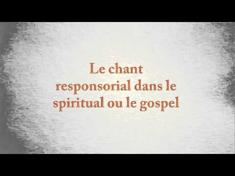 Le chant responsorial