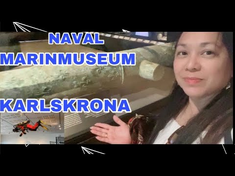 AMAZING NAVAL MARINMUSEUM IN STUMHOLMEN ISLAND HOLIDAY KARLSKRONA TRAVEL & TOUR GUIDE BY ANN CENTENO