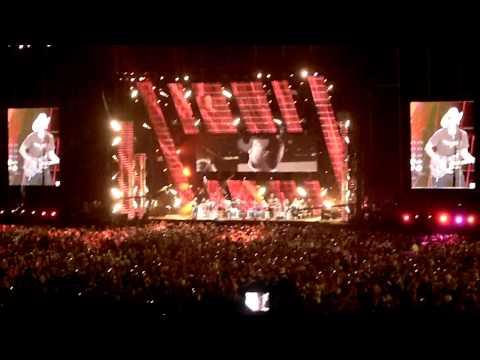 Brad Paisley and Alabama CMA Music Fest 2011 Nashville, TN LP Field