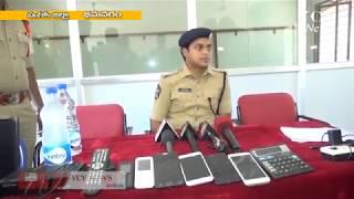 Police Arrests Cricket Bookies in Bhimavaram 06-05-2018 vcv info news