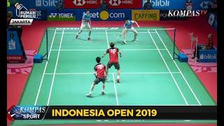 Marcus/Kevin Susul Ahsan/Hendra ke Final Indonesia Open 2019