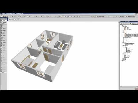 Designing a small house in Archicad