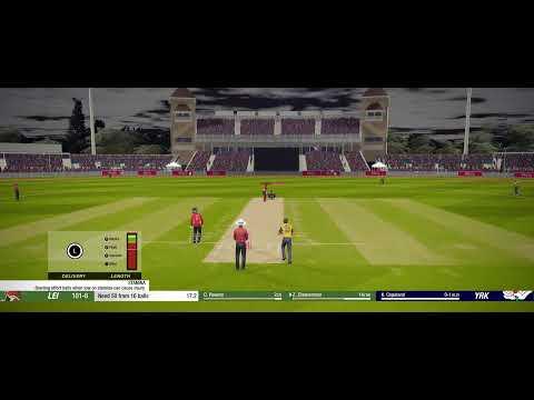 LIVE | Cricket 19 | Career Mode #64 | England T20 Slam