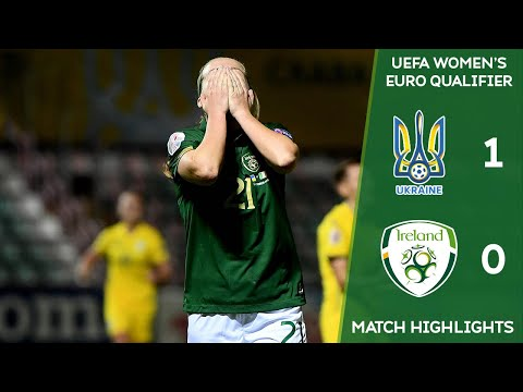 #IRLWNT HIGHLIGHTS | Ukraine 1-0 Ireland - UEFA Women's Euro 2022 Qualfier