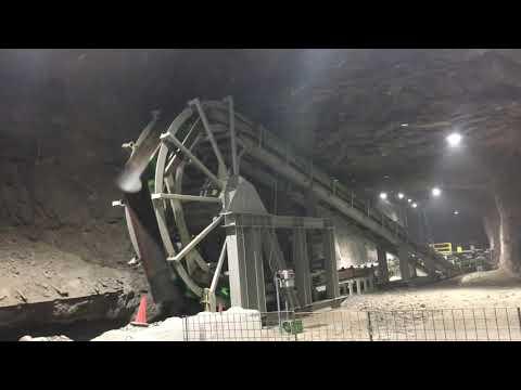Missouri Underground Lead Mine Rail-Veyor
