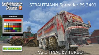 Lime and fertilizer Spreader PS 3401 V2 MP  ...HD...(DOWNLOAD LINK IN DESCRIPTION !!! !!! LINK DO POBRANIA W OPISIE !!! PRZECZYTAJ UWAŻNIE OPIS!!! Witam Przedstawiam wam mod do LS15 jest to ..., 2015-04-16T10:00:55.000Z)