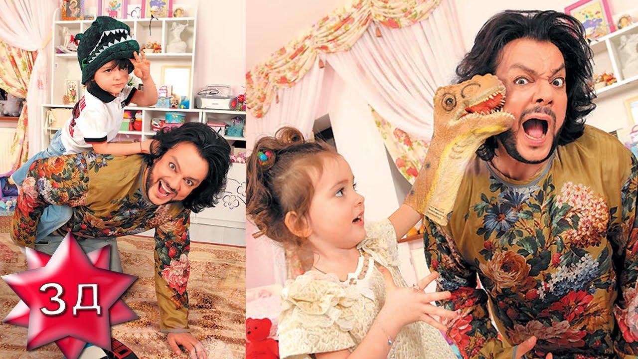 дети филиппа киркорова фото дочери и сына
