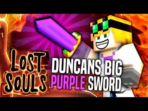 Minecraft - DUNCAN'S BIG PURPLE SWORD - Lost Souls #33