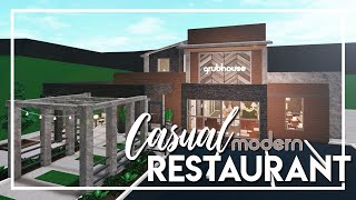 Welcome to Bloxburg: Casual Modern Restaurant
