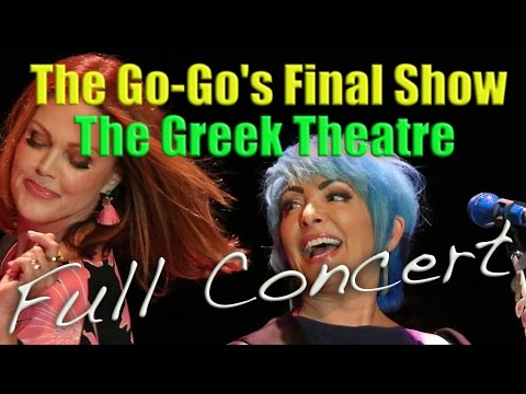 The Go Go's 2016 final farewell show At The Greek Complete