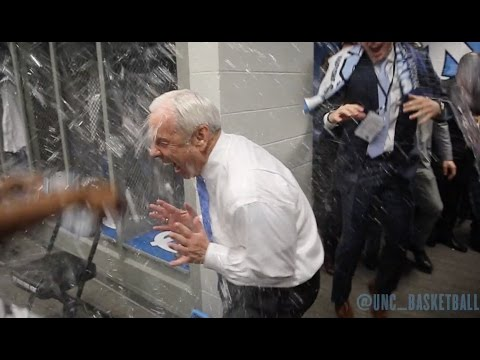 Carolina Basketball: NATIONAL CHAMPIONSHIP LOCKER ROOM CELEBRATION!