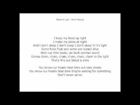Shine a light lyrics
