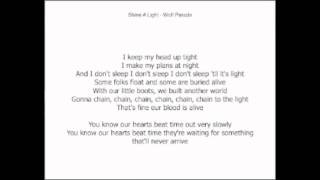 Shine a light lyrics