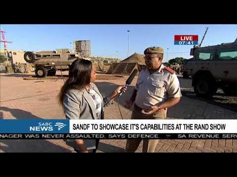 SANDF's involvement at Rand Show - Brig. Gen. Mgobozi
