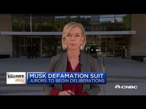Closing Arguments Set To Begin In Elon Musk Defamation Case