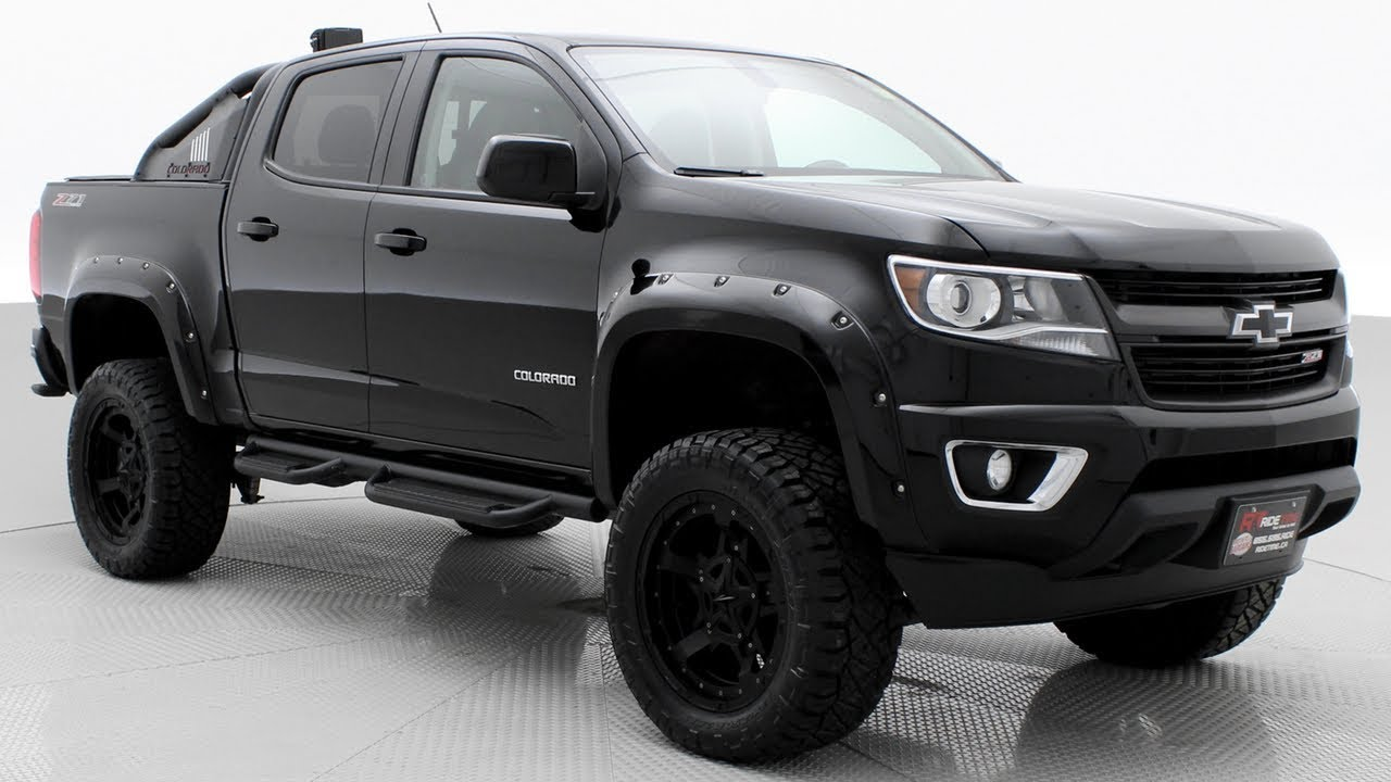 Lifted 2016 Chevrolet Colorado Z71 Trail Boss Package Ridetime Ca