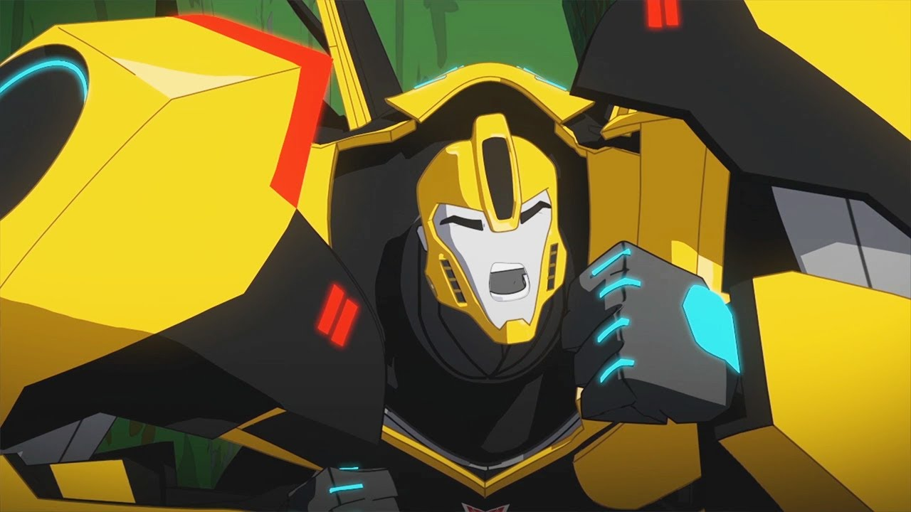 Bumblebee's Big Squeeze | Robots in Disguise (2015) | Season 1 | Transformers Official
